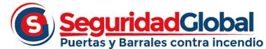 * Puertas antifuego y Barrales antipanico contra Incendio