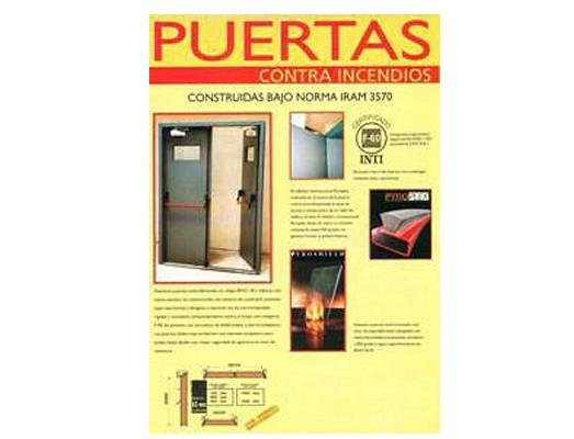 puertas resistentes al fuego - PUERTAS CONTRA INCENDIO RF-30 RF 60 RF 90 RF 120