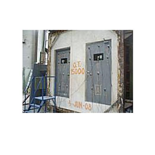 puerta retiene un incendio - PUERTAS CONTRA INCENDIO RF 30 CON VIDRIO